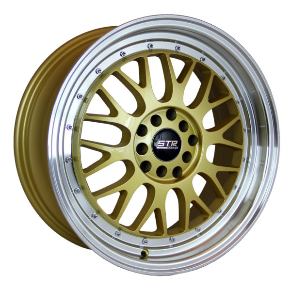 STR 601 GOLD MACHINED LIP
