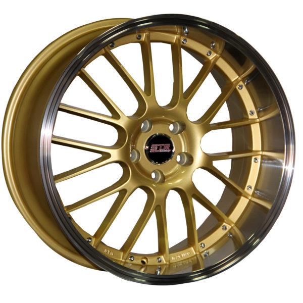 STR 514 GOLD MACHINED LIP