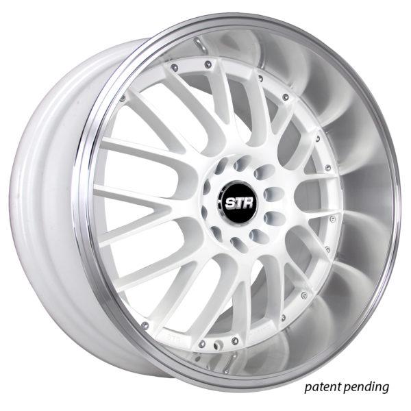 STR 514 WHITE MACHINED LIP