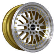 STR 520 GOLD MACHINED FACE