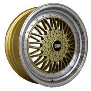 STR 606 GOLD MACHINED LIP
